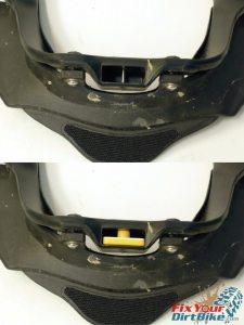 Leatt Neck Brace Rear Thoracic Support Mount