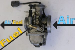 2-Stroke Carburetor full air fuel Mix