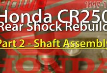 1997 - 1999 Honda Cr250 Rear Shock Rebuild Part 2