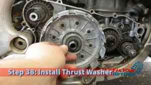 Step 38: Install Thrust Washer