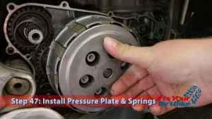 Step 47: Install Pressure Plate & Springs