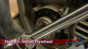 Step 51.2: Install Flywheel