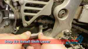 Step 23: Install Shift Lever