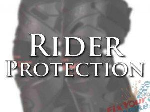 Product Reviews Rider Protection Header