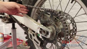 Step 14 - Check Chain Tension