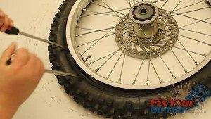 Pull Tire Over Rim Lock