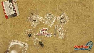 1997 - 2001 Honda Cr250 - Rear Caliper - Caliper Rebuild Kit Parts