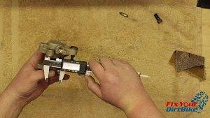 Measure Caliper Piston Bore