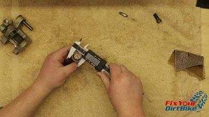 Measure Caliper Piston