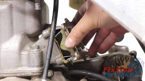 Remove Reed Valve Assembly