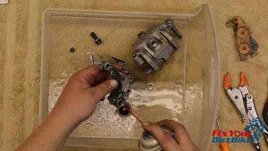 2009-2010 Honda CRF450r - Brakes - Clean Everythiing