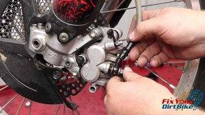 2009-2010 Honda CRF450r - Brakes - Install Banjo Bolt