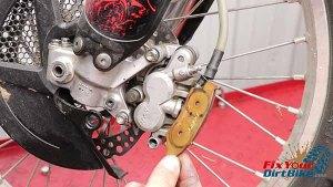 2009-2010 Honda CRF450r - Brakes - Pull Brake Pads