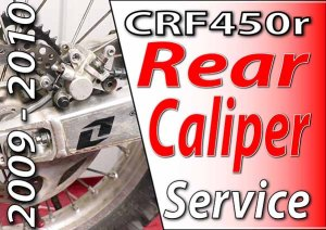 2009 - 2010 Honda CRF450r - Rear Caliper Featured