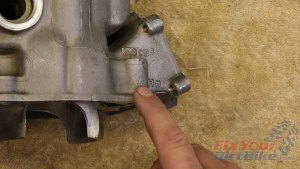 1997 - 2001 Honda CR250 - Top End Service - Part 9 - Clearance Calculations - Piston Identification