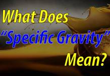 "What Does ""Specific Gravity"" Mean For Fuel?"