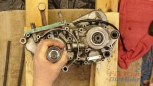 10 - Pull Crankshaft Into Left Case