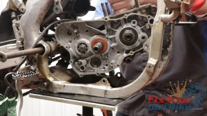 5. Remove Crankcase From Frame