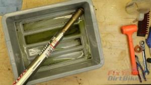 5 - Drain Fork Tubes