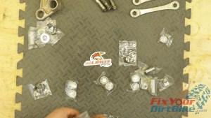 10 - New All Balls Shock Linkage Rebuild Kit