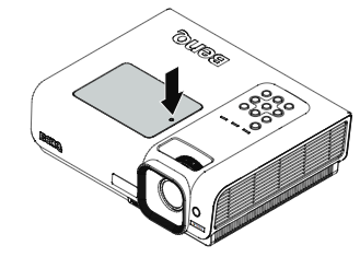 BenQ W1000 projector lamp