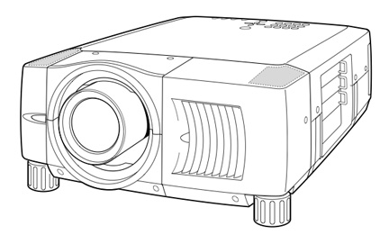 Eiki LC-SX4L projector lamp