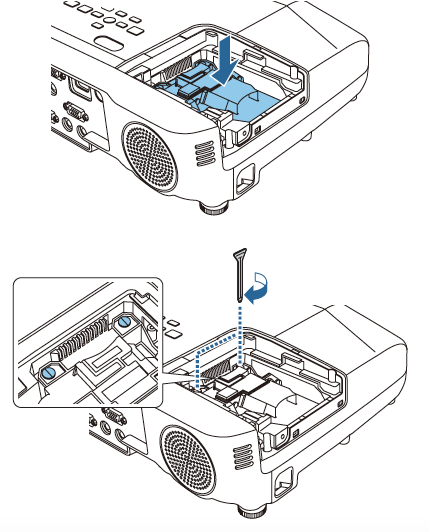 Epson EB945 projector lamp