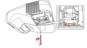 Epson PowerLite 470 projector lamp