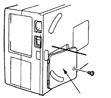 Step-by-step instructions for replacing the Sanyo PLC