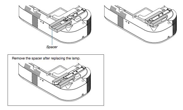 NEC LT180 projector lamp