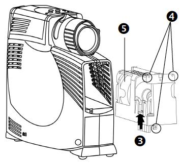 Optoma EP715 projector lamp