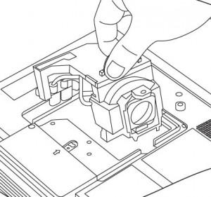 BenQ PB8263 projector lamp