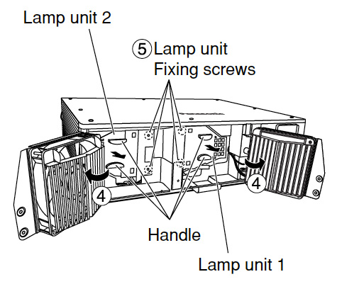 Panasonic PT-DW5000U projector lamp