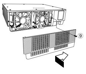 Panasonic PT-D5500U projector lamp