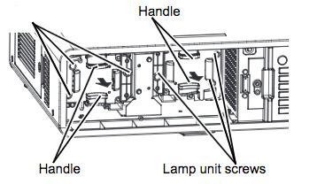 Panasonic PT DZ6700 projector lamp
