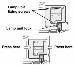 Panasonic PT-AE1000 projector lamp