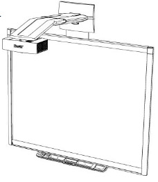 Smartboard 880i4 projector lamp