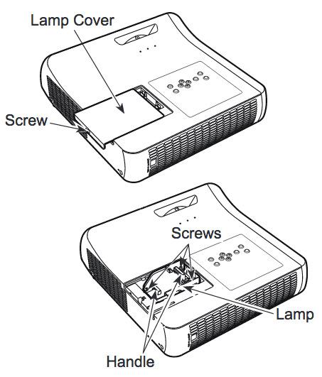 Sanyo PLC-WL2501 projector lamp