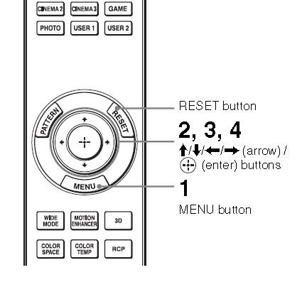 Sony VPL-HW30ES projector