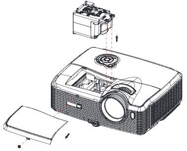 Viewsonic Pro8200 projector lamp