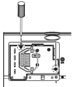 Vivitek D825MS projector lamp