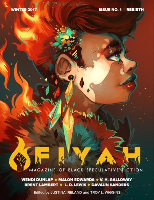 Rebirth issue cover