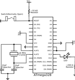 schematic of a breadboard arduino fiz ix circuit diagram arduino nano circuit diagram arduino [ 928 x 948 Pixel ]
