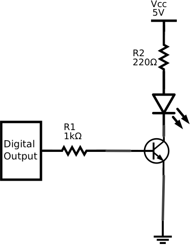 What does this resistor on this NPN circuit do? LED Cube