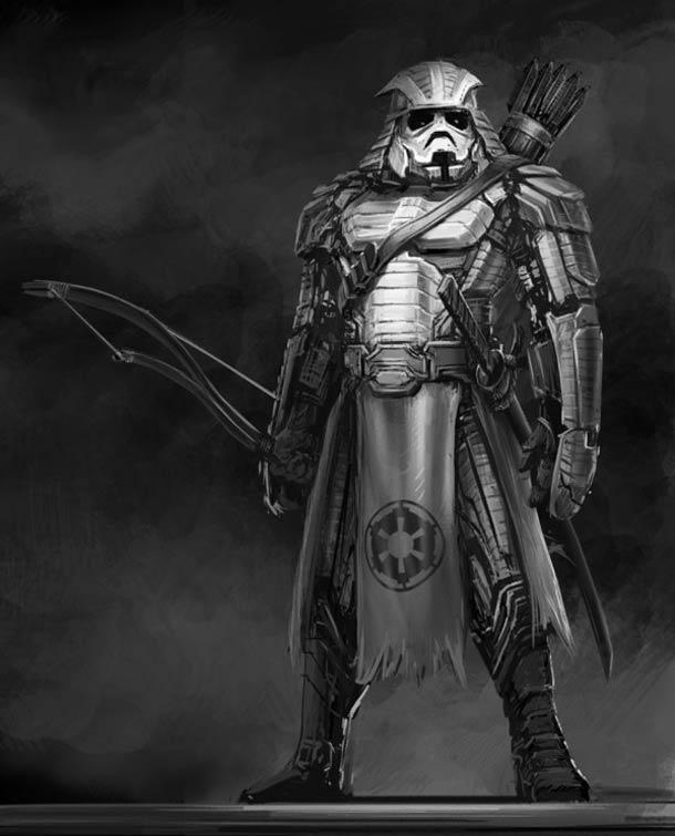 Awesome Samurai Star Wars Art