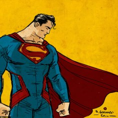 super hero art