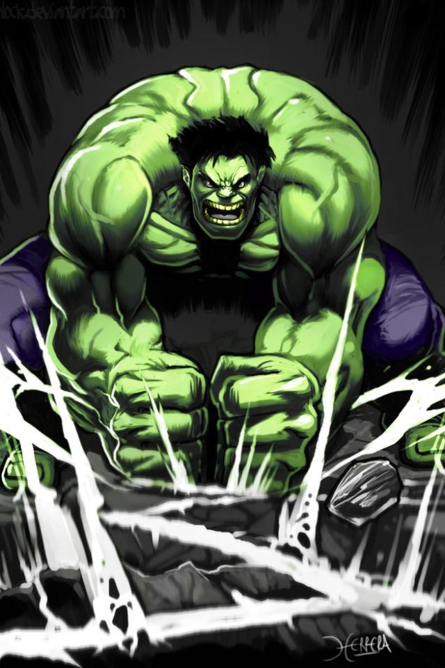 hulk comic retina wallpaper