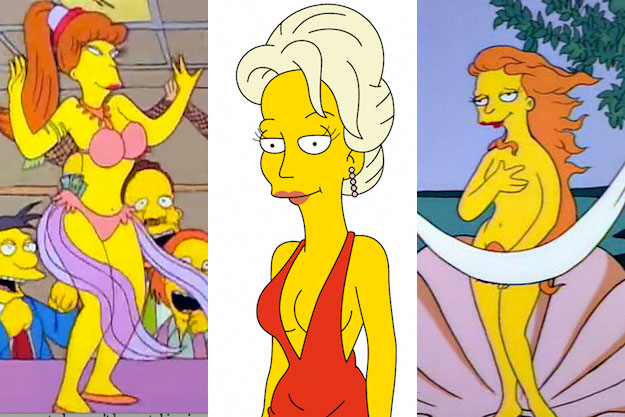 10 Hottest Women Ever On The Simpsons-7140