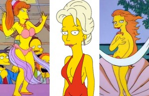 10 HOTTEST WOMEN EVER ON 'THE SIMPSONS'