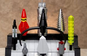 I Need That Hammer: Avenger Props Recreated In LEGO